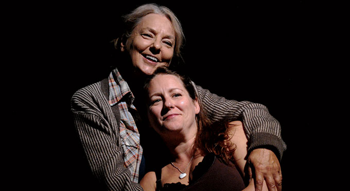 Kerry Shanklin and Abby Dorn in Athol Fugard's Road to Mecca
