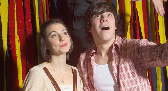 Chrissy Smith and Luke Andy Smith in Jones and Schmidt's <i>The Fantasticks!</i>